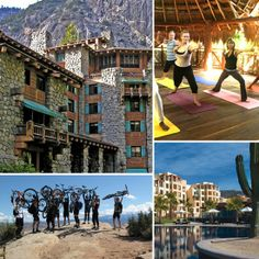 The Best Fitness and Health Hotels and Resorts - healthy vacation destinations