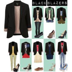 """Black Blazers"""