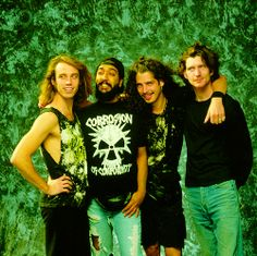 Soundgarden...not taking things seriously since 1984.. Lulz