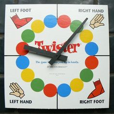 Inspiration for painting Twister on floor for Indoor Recess