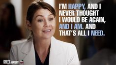 Meredith Grey, Grey's Anatomy quotes love this show Greys Anatomy Couples, Greys Anatomy Funny, Greys Anatomy Facts, Grey Anatomy Quotes, Grays Anatomy, Meredith Grey, Merideth Grey Quotes, Belief Quotes, Dark And Twisty