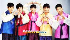 DMTN Poses in a Hanbok for The Lunar New Year + 2013 Plans ⋆ The latest kpop news and music Lunar New, Dalmatian, How To Become, Poses, How To Plan, Music, Motivation, Fashion, Figure Poses