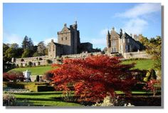 Drummond Castle and Garden, Perthshire