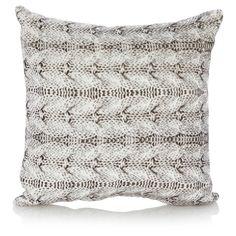 George Home Printed Knit Cushion | Cushions & Throws | ASDA direct