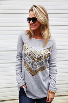 Show Me Your Sequin Tunic from The Rage. Saved to Fashion+Style