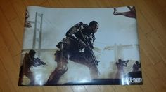 CALL OF DUTY COD ADVANCE WARFARE LARGE DOUBLE POSTER XBOX 360