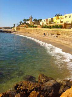 Playa de El Faro - Roquetas de Mar. Almería España