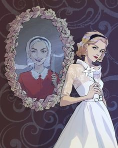 Sabrina the Teenage Witch/Chilling Adventures of Sabrina Audrey Horn, Character Art, Character Design, Betty & Veronica, Teen Witch, Kiernan Shipka, Sabrina Spellman, Make Up Art, Witch Art