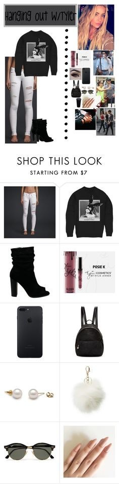 """""""Hanging out W/Tyler H  ❤️✨"""" by wwemelody ❤ liked on Polyvore featuring Hollister Co., STELLA McCARTNEY, Charlotte Russe and Ray-Ban"""