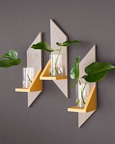 Simple Wooden Wall Sconces by Lowe's Home Improvement. #p_roduct