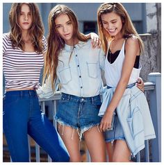 Don't Call Me Penny | Supre Girl Gang Rocks Street Style AW15 What do actress Isabelle Lucas, international model Inka Williams and social media superstar Sarah Ellen have in common? They are all the faces of the new, and exciting, Girl Gang campaign for Supre.  #supre #supregirlgang #fashion
