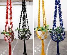 Top 10 Fancy Ideas for Macrame Hanging Planter n