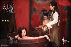 The Fire Princess Yan Da and Yun Fei (The Ice Prince Ying Kong Shi) SX XXX Ice Fantasy Ice Fantasy, Ma Tian Yu, O Drama, Fantasy Heroes, Royal Blood, Romance, Muslim Women, Studio Ghibli, Live Action