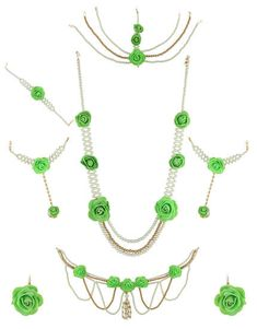 374 Best Flower Jewellery Floral Jewellery Haldi Jewellery Online
