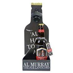 Debenhams Al Murray bottle opener set with beer | Debenhams