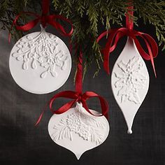 Image result for air dry clay christmas projects