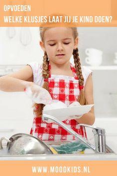 Doe jij het huishouden alleen of delegeer je ook taken? Helpen je kinderen ook mee met klusjes? Organizer Lianne heeft voorbeelden van geschikte klusjes voor kinderen.