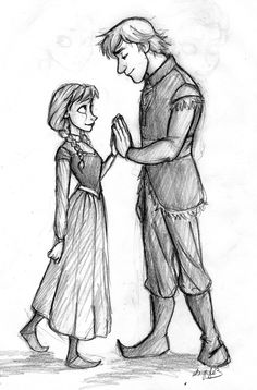 Frozen art based of a piece of Tangled concept art. By Iabri. Upon-a-gray-dawn.tumblr.com (if you pin, please do not remove source)