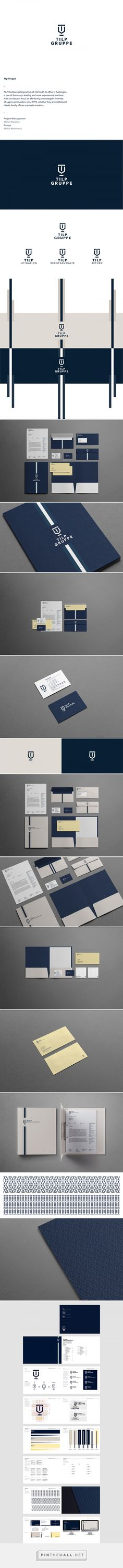 Tilp Gruppe on Behance. Typography Logo, Logo Branding, Branding Design, Logos, Corporate Design, Corporate Identity, Web Design Mobile, Branding Materials, Communication Design
