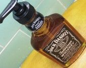 Jack Daniels soap dispenser. Got to make this.