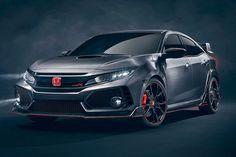 Nuevo Honda Civic Type R. Llegará en verano, y tendrá mucho que ver con estudio