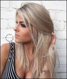 Die besten 25+ Medium ash blonde hair Ideen auf Pinterest   Dunkle ...   Einfache Frisuren