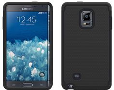 Galaxy Note Edge - Textured Dual Layer Heavy Duty Case in Assorted Colors