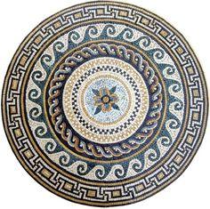 Aelius II Greco-Roman Mosaic Rondure