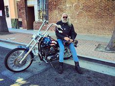The portrait of a good 'ol fashion American biker #harleydavidson #america #freedom #biker #bikelife #twowheels #livetoride #ridetolive #socal #California #losangeles #Glendale #travel #adventure #explore