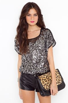 Shattered Sequin Top  Style #: 12953    $48.00
