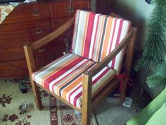 $15 Whoa with right cushions and shined up this would be amazing accent chair -