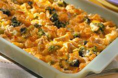 Cheesy Chicken Casserole Recipe on Yummly