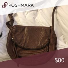 Lucky Brand Leather Satchel Brown leather satchel bag, Never been used, perfect condition Lucky Brand Bags Satchels