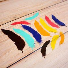 Vellum Feathers from Elle's Studio