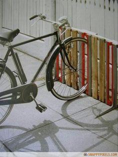 Bici parking lot