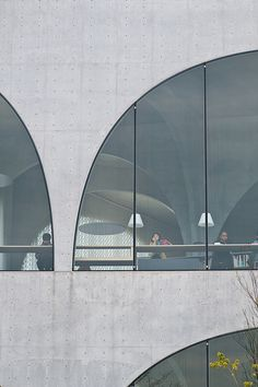 Tama Art University Library - Toyo Ito by Jon Reksten, via Flickr