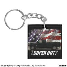 2013 F-250 Super Duty SuperCab Lariat Long Bed Keychain