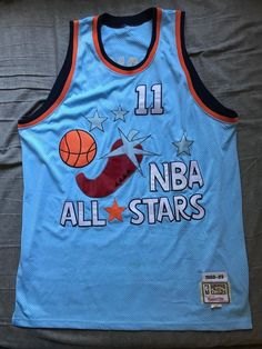 Men s Mitchell   Ness NBA All Stars 88-89 jersey Isiah Thomas  11 size 56 9fd900637