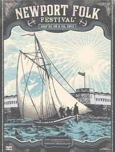 Habitually Chic®: Anchors Away - Newport Folk Festival - a classic