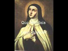 Santa Teresa de Jesus ... Vossa Sou -  Canción en portugués.