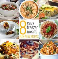 8 Easy Freezer Meals for New Moms