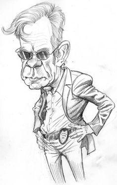 David Caruso  (by Tom Richmond)