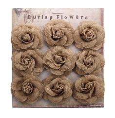 DIY Burlap Roses Before we make the roses, we need to stabilize the burlap to .DIY Burlap Roses Before we make the roses, we need to stabilize the burlap to avoid fraying. We simply mix Paper Flowers Diy, Handmade Flowers, Flower Crafts, Handmade Crafts, Diy Paper, Burlap Crafts, Burlap Wreath, Fabric Crafts, Burlap Projects