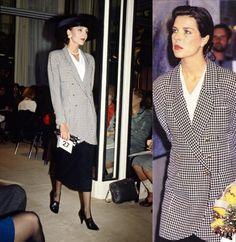 Princess Caroline - Prince Pierre Foundation's Contemporary Art Exhibition, May 1988. (1988).