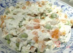 Recept Kuřecí salát s mrkví a hráškem Potato Salad, Chicken Recipes, Salads, Low Carb, Brunch, Food And Drink, Veggies, Meals, Breakfast