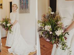 Such a picture-perfect bouquet by Finch & Thistle. We love its wild, untamed feel.
