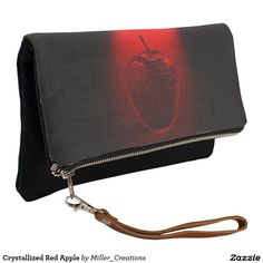 Crystallized Red Apple Clutch