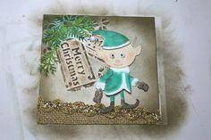 Weihnachtskarte für Danis Adventskalender  http://danielarogall.de/danis-adventskalender-2014/ - Tür 5,  Step by Step Tutorial - Daniela Rogall