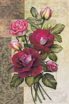 The Art of Manliness – Search your partner Decoupage Vintage, Vintage Diy, Vintage Cards, Vintage Paper, Vintage Images, Victorian Flowers, Vintage Flowers, Vintage Floral, Art Floral