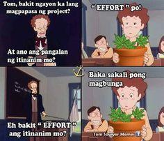 Tagalog Quotes Funny, Pinoy Quotes, Memes Pinoy, Hugot Quotes, Hugot Lines, Pick Up Lines, Random Thoughts, Naruto Uzumaki, Filipino